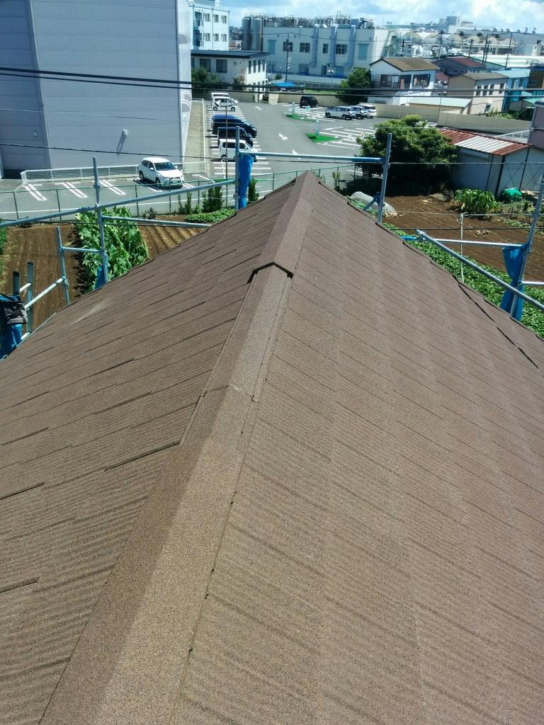 茅ヶ崎市 T様邸 屋根葺き替え工事