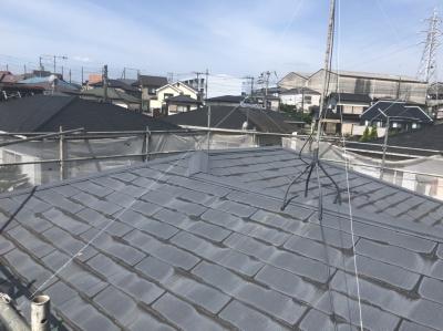 平塚市K様邸 外壁・屋根塗装工事