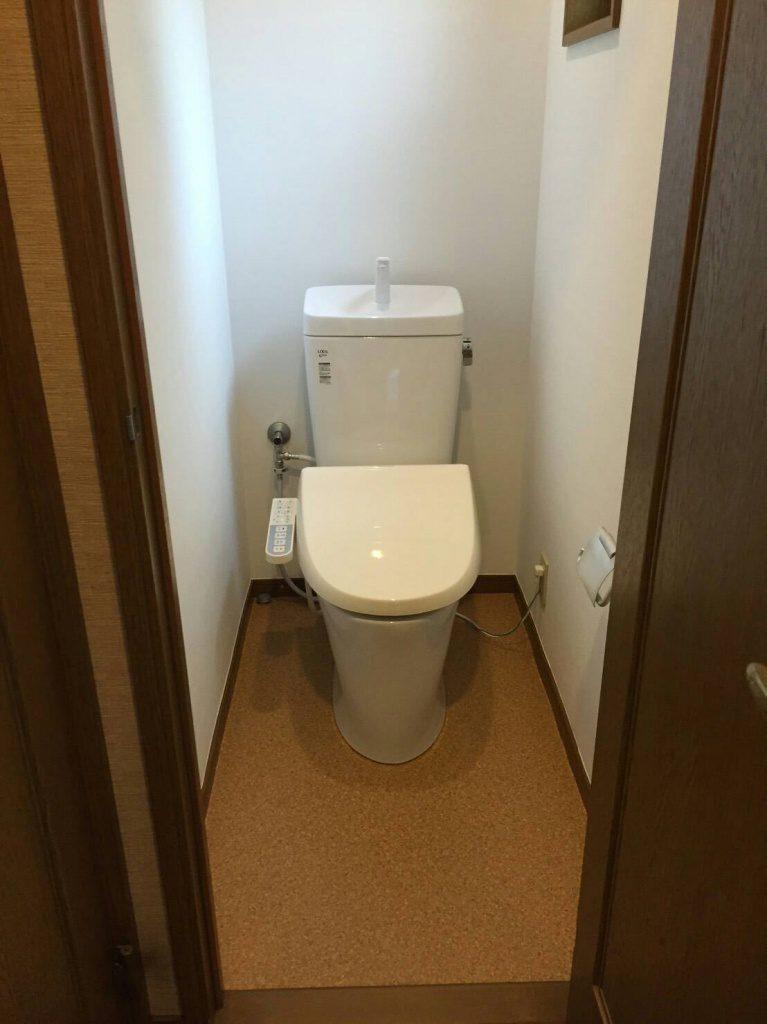 茅ヶ崎 I様邸 トイレ工事