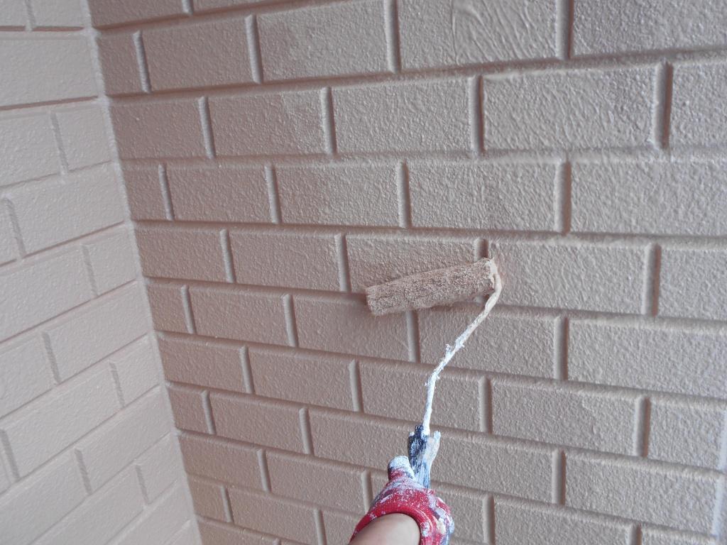 茅ケ崎市A様邸 外壁上塗り施工