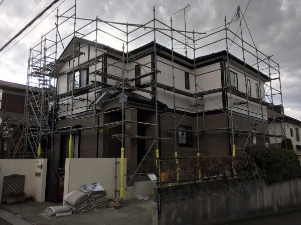 海老名市K様邸 外壁塗装 屋根塗装
