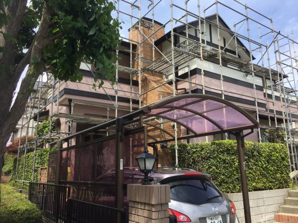 茅ヶ崎市M様邸 外壁塗装、屋根塗装