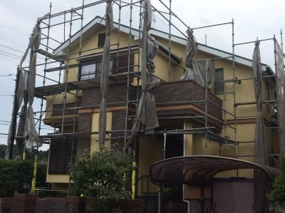 茅ヶ崎市東海岸S様邸 屋根塗装、外壁塗装工事