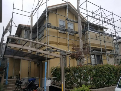 茅ヶ崎M様邸屋根外壁塗装工事