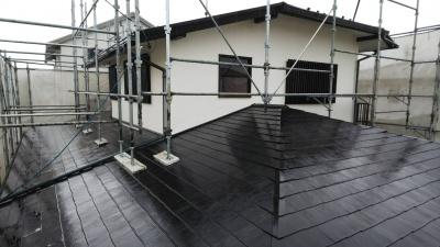 茅ヶ崎O様邸屋根塗装工事