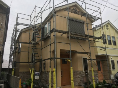 寒川町K様邸 屋根外壁塗装工事