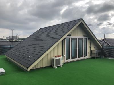 茅ケ崎市S様邸 外壁屋根塗装工事・室内天井壁塗装工事