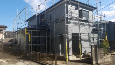 秦野市I様邸 外壁・屋根塗装工事