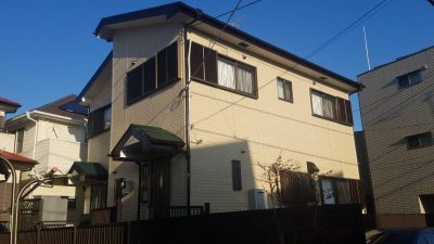 茅ヶ崎市M様邸 外壁・屋根塗装工事
