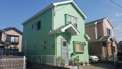 茅ヶ崎市S様邸 外壁屋根塗装工事