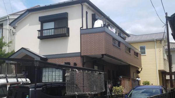 茅ケ崎市K様邸 外壁・屋根塗装工事