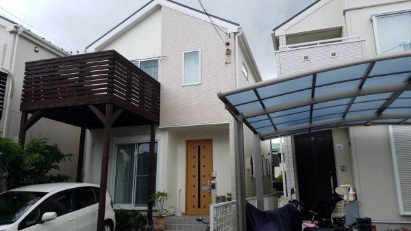 茅ケ崎市M様邸 外壁・屋根塗装工事