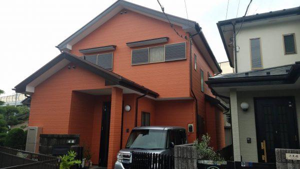 茅ケ崎市 K様邸 外壁・屋根塗装工事