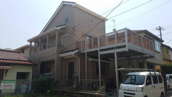 茅ケ崎市 O様邸 外壁・付帯塗装工事