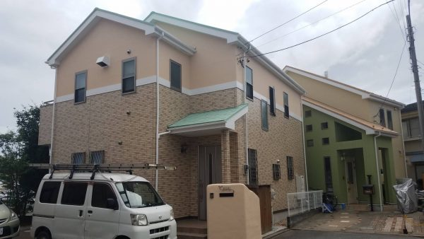 茅ケ崎市A様邸 外壁・屋根・付帯部塗装工事