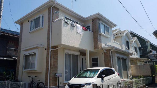 茅ヶ崎市 S様邸 外壁・屋根・付帯部塗装工事