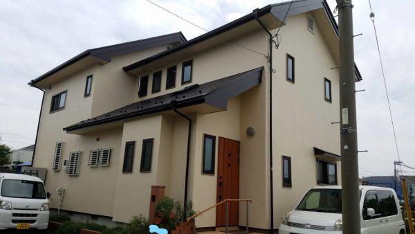 茅ヶ崎市 K様邸 外壁・屋根・付帯部塗装・バルコニー床防水工事