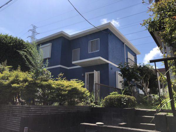 平塚市 I様邸 外壁・屋上・付帯部塗装工事