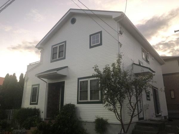 平塚市 M様邸 外壁・屋根・バルコニー床塗装工事