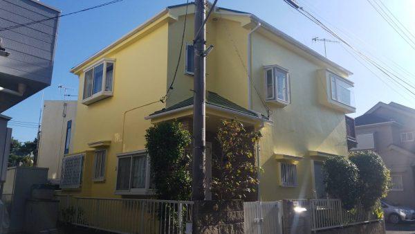 茅ケ崎市 外壁・屋根・付帯部・バルコニー床塗装工事