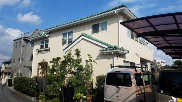 茅ヶ崎市 Y様邸 外壁・付帯部・ウッドデッキ塗装・バルコニー床防水工事