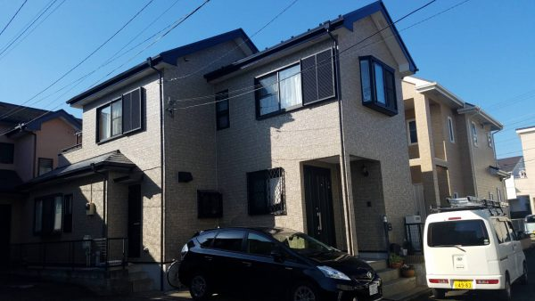 茅ヶ崎市 N様邸 外壁・屋根・付帯部・バルコニー床塗装工事