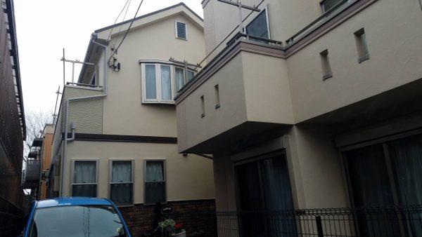藤沢市 Y様邸 外壁・屋根・付帯部塗装・バルコニー床防水工事