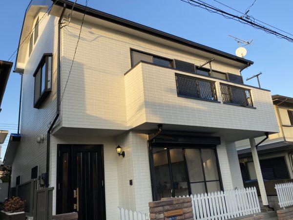 平塚市 N様邸 外壁・屋根・付帯塗装・バルコニー床防水・コーキング工事