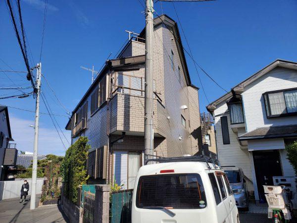 茅ヶ崎市 N様邸 外壁塗装・バルコニー床防水・コーキング工事