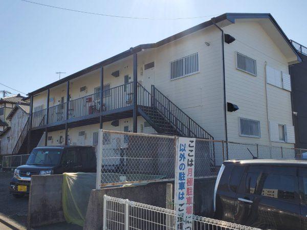 寒川町 H様アパート 外壁・付帯部・屋根塗装・コーキング工事
