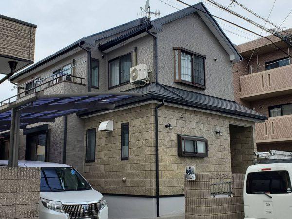 茅ヶ崎市 O様邸 外壁・屋根・付帯部塗装・バルコニー防水・コーキング工事