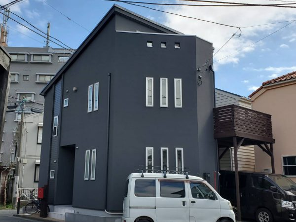 茅ヶ崎市 I様邸 外壁・屋根・付帯・ウッドデッキ塗装・バルコニー防水工事