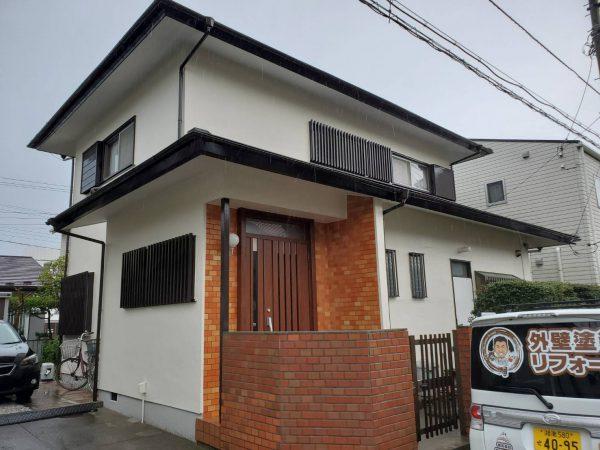 茅ヶ崎市 A様邸 外壁・付帯部塗装