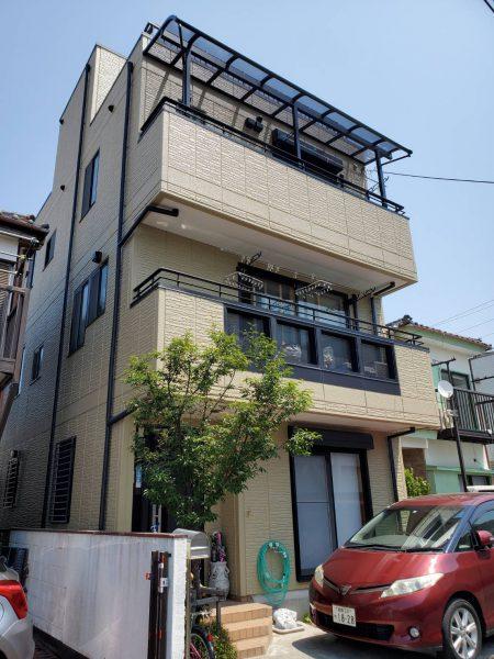 茅ヶ崎市 T様邸 外壁・付帯部塗装・コーキング工事