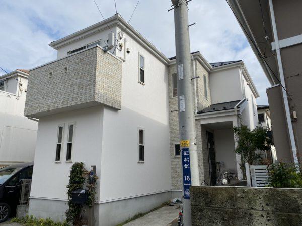 平塚市 I様邸 外壁・屋根・付帯部塗装・バルコニー防水工事