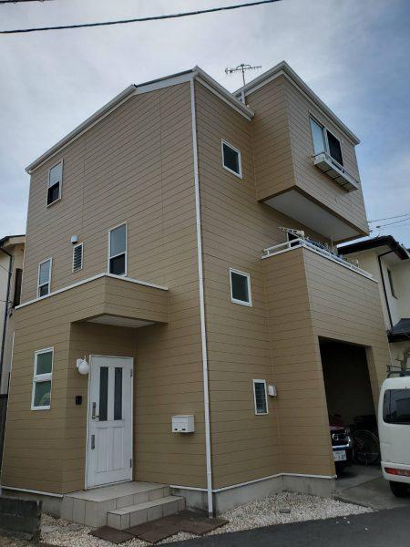 茅ヶ崎市 T様邸 外壁・屋根・付帯部塗装・バルコニー防水・コーキング工事