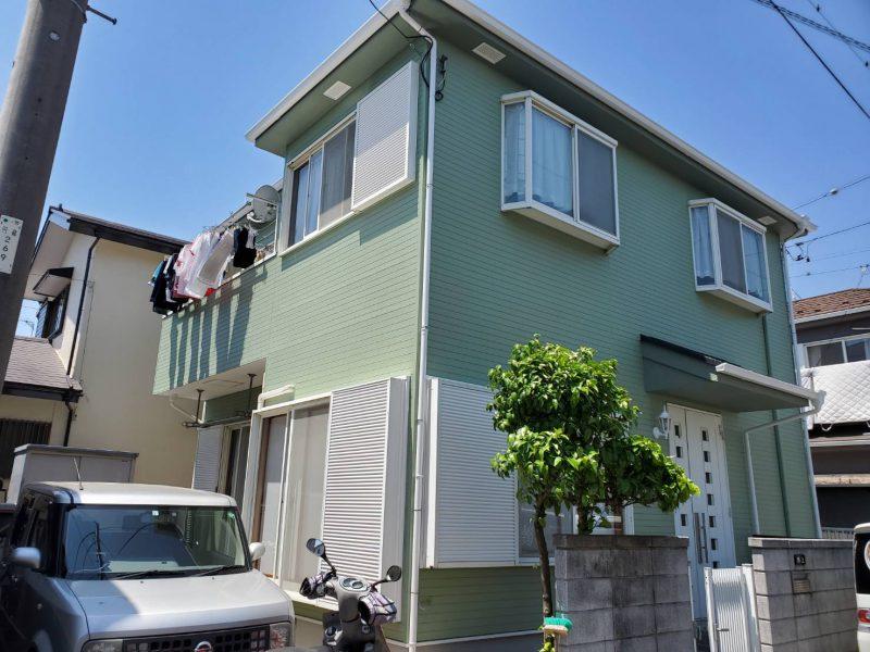 茅ヶ崎市 N様邸 外壁・屋根・付帯部塗装・バルコニー防水・コーキング工事