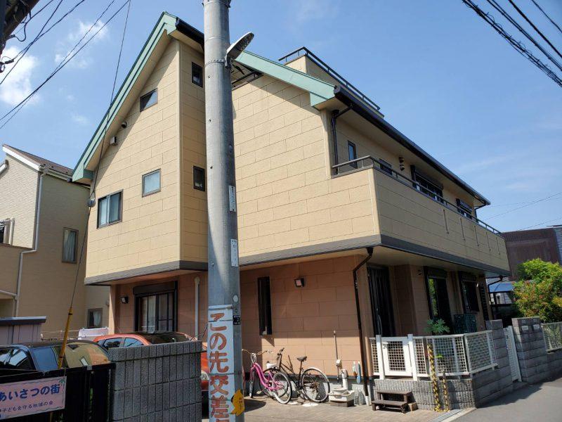 茅ヶ崎市 Y様邸 屋根・付帯部塗装・バルコニー防水・コーキング工事