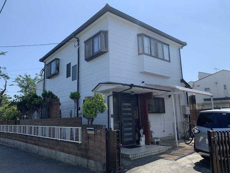 茅ヶ崎市 M様邸 外壁・付帯塗装・コーキング工事