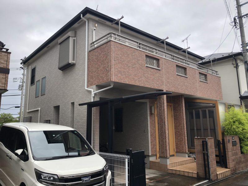 茅ヶ崎市 S様邸 屋根・付帯部・コーキング・バルコニー樹脂デッキ設置工事