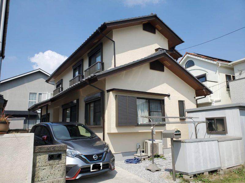 茅ヶ崎市 S様邸 外壁・付帯部塗装工事