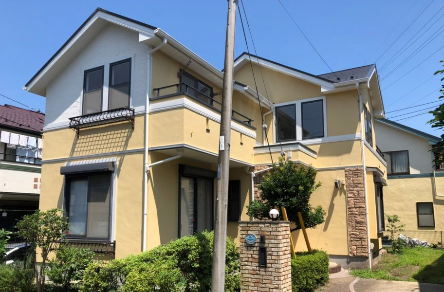 藤沢市 H様邸 外壁・屋根・付帯部塗装・バルコニー防水工事