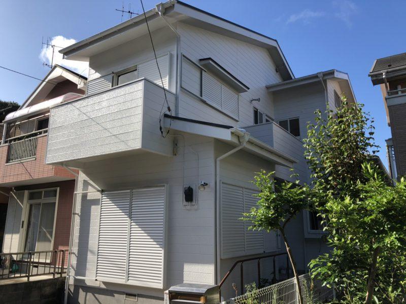 藤沢市 S様邸 外壁・屋根・付帯部塗装・バルコニー防水工事