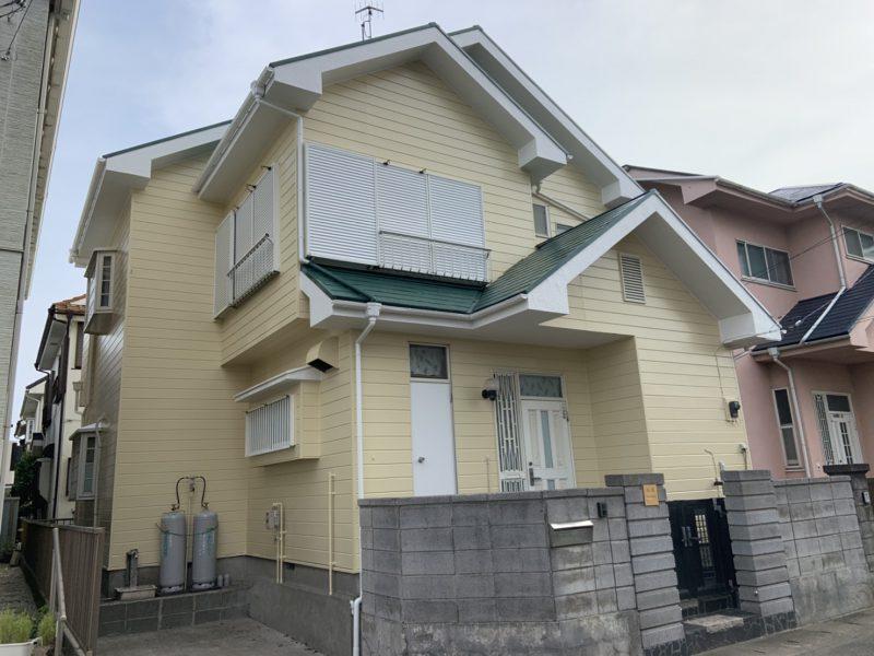 藤沢市 H様邸 外壁・屋根・コーキング・バルコニー防水工事