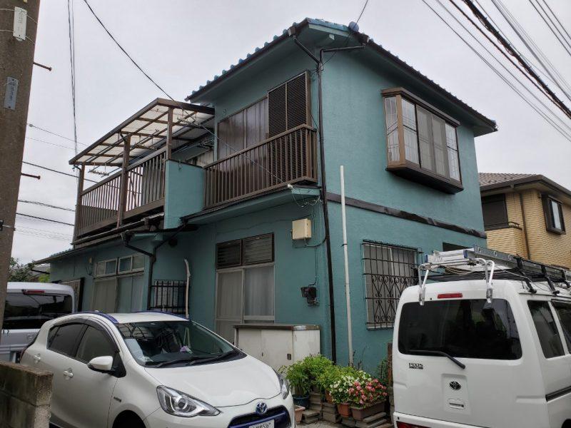 茅ヶ崎市 N様邸 外壁・付帯部塗装工事