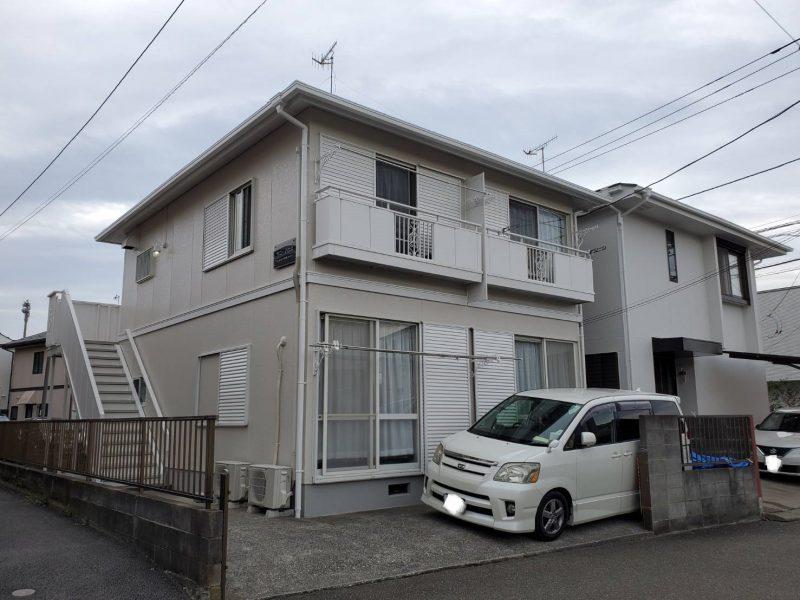 茅ヶ崎市 A様所有アパート 外壁・屋根塗装工事