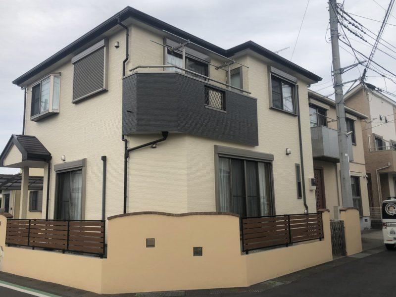 寒川町 M様邸 外壁・屋根・付帯部塗装・バルコニー防水工事