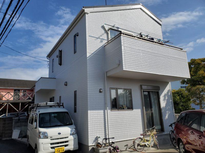 藤沢市 T様邸 屋根カバー工法・外壁・コーキング・バルコニー防水工事