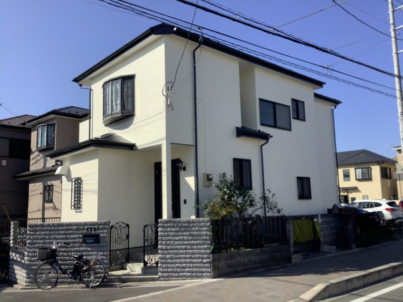 茅ヶ崎市 T様邸 外壁・屋根・付帯部塗装・バルコニー防水工事