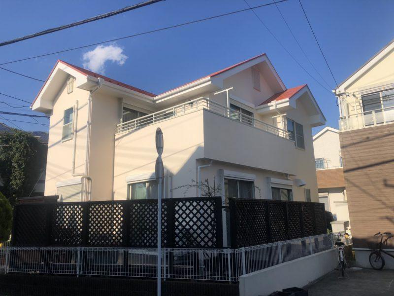 茅ヶ崎市 M様邸 外壁・屋根・付帯部塗装・バルコニー防水工事